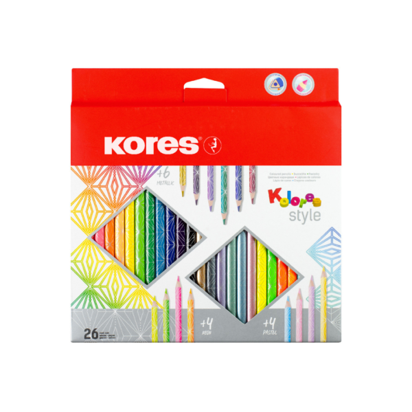 COLORES KORES TRIANGULAR STYLE X 26